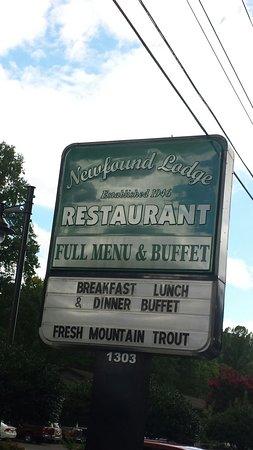 Newfound Lodge Restaurant: 20160813_172449_large.jpg