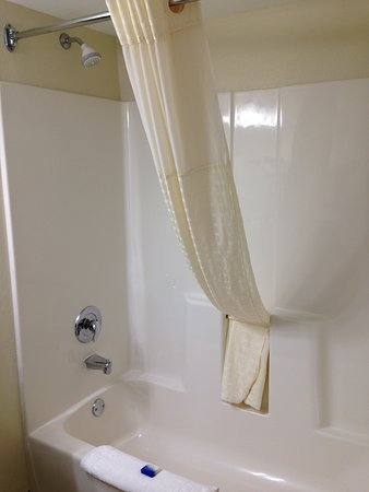 Best Western Patriots Point : Bathroom with tub/shower