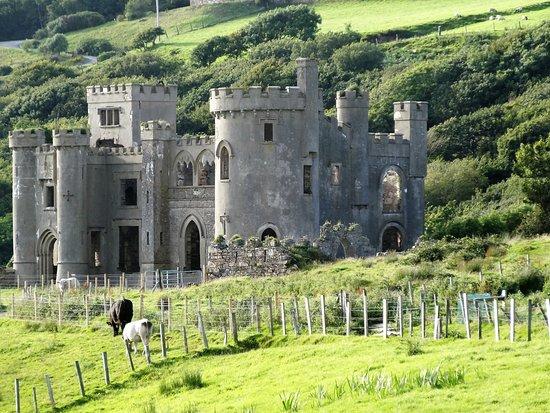 Clifden Castle: Un château un peu kitsch au milieu des prés