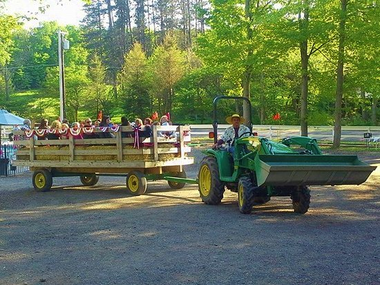 Findley Lake, État de New York : Free Hay Rides