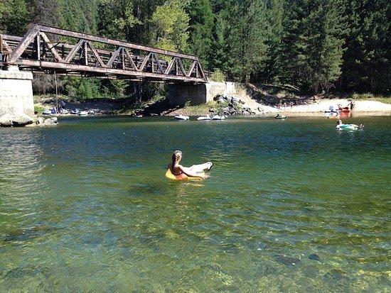 Rock Creek, Kanada: Tubing 2