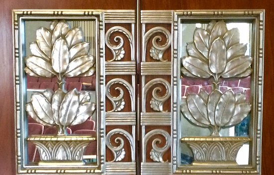 Mississippi War Memorial Building: Decorative auditorium doors
