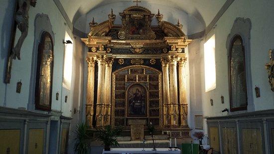 Macerata Feltria, Ιταλία: VISTA INTERNA DELLA BELLA CHIESA!!