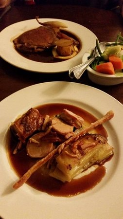 Makeney Hall Hotel: main course
