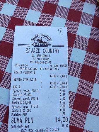 Kobior, Poland: Zajazd Bufet Country - Restauracja