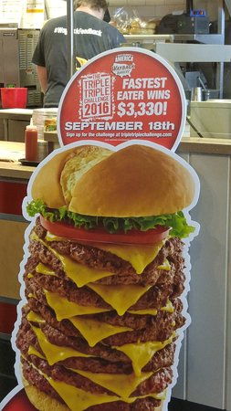 Ashburn, VA: Triple Triple Challenge....how fast can you eat it??