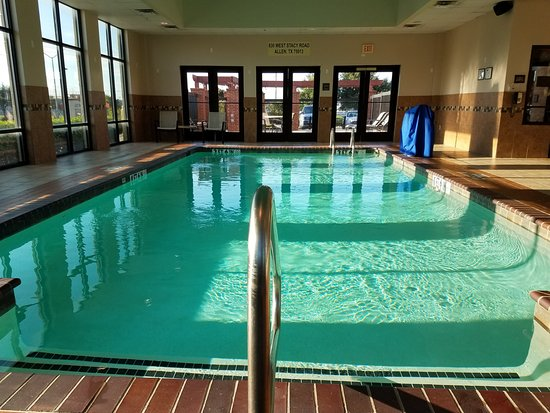 Love the indoor pool area, so clean and quiet in here. - Picture ...
