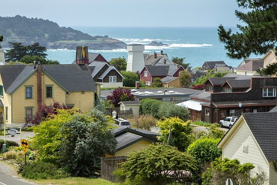 Mendocino County, Kalifornie: The Village of Mendocino