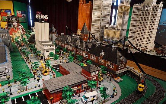 Saginaw, MI: Lego Land