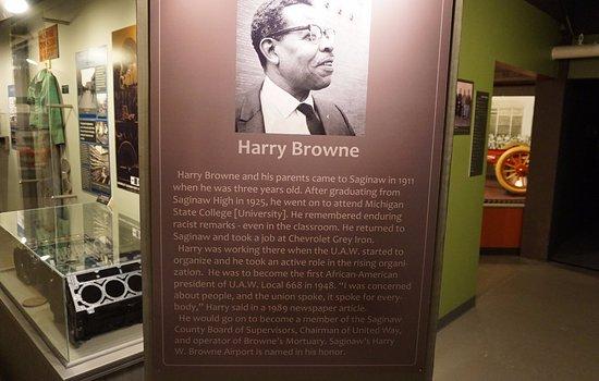 Saginaw, MI: Harry Browne