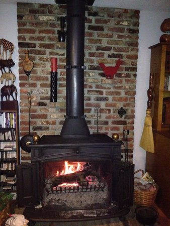 Vance, AL: Enjoy the Franklin Stove on a cold night.