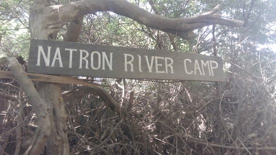Natron River Camp: L'ingresso del camp