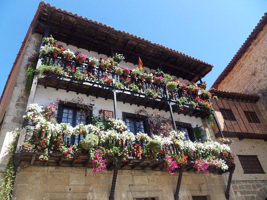 Terrazzi fioriti foto di plaza mayor de ramon y pelayo for Terrazzi fioriti