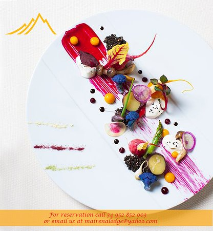 Ojen, Spain: Our plates are made with precision, passion and lots of love!