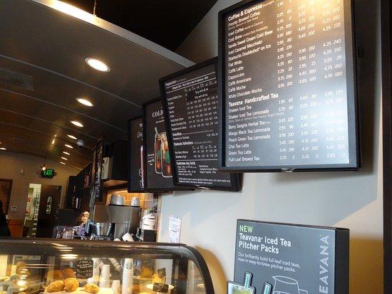 Rio Grande, NJ: These menu boards are easy to read !