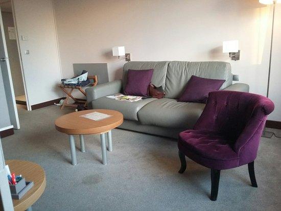 Seilh, Frankrig: Salon de la suite