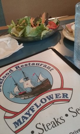 Danville, VA: My husband's side salad.