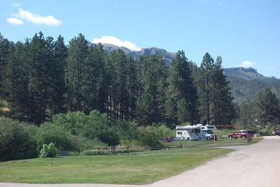 Mount Rushmore / Hill City KOA: our site & views!