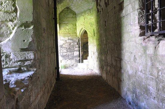 Tisbury, UK: Inside the Castle