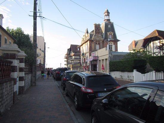 Terre Oceane : Crêperie dans la rue