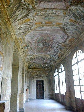 Residenza Bianconcini: Palazzo Bianconcini, sala affrescata negli ambienti di ingresso