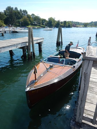 Wolfeboro, NH: All aboard