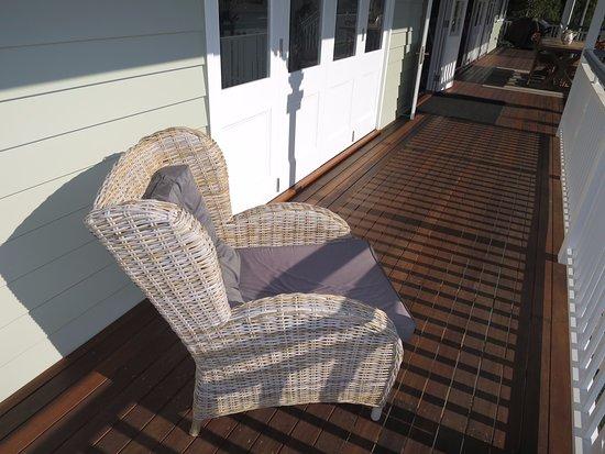 Maleny, Australia: back patio