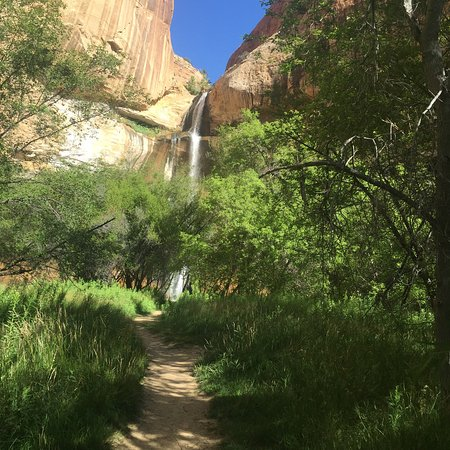 Escalante, UT: Magnificent vistas at Calf Creek, worth every bead of sweat.