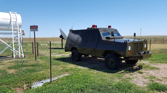 Philip, SD: The awesome truck they were supposed to use to check alarms