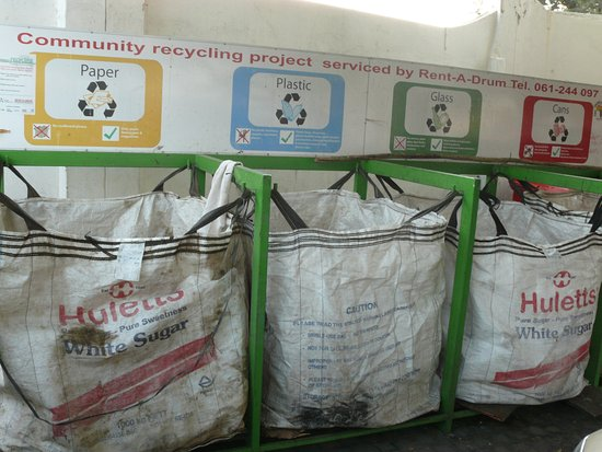 Roof of Africa Hotel: Recycling at Roof of Africa