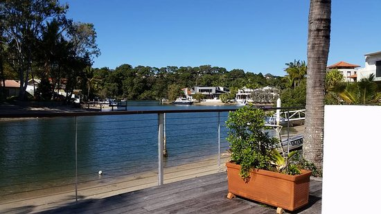 Caribbean Noosa: Our room with river view