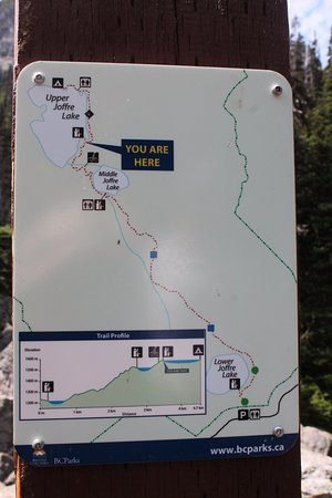 Pemberton, Canada: trail length and elevation change