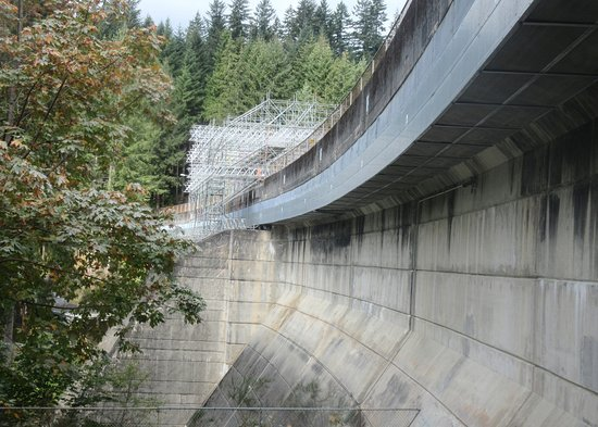Kuzey Vancouver, Kanada: Cleveland Dam, North Vancouver, British Columbia