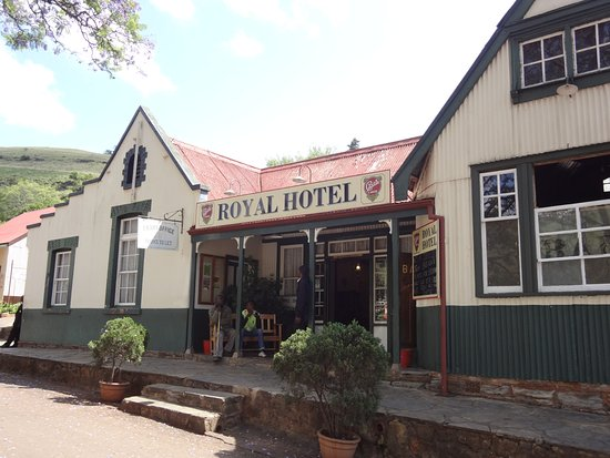 Graskop, Sudafrica: El viejo Hotel sigue siendo Hotel y está casi igual