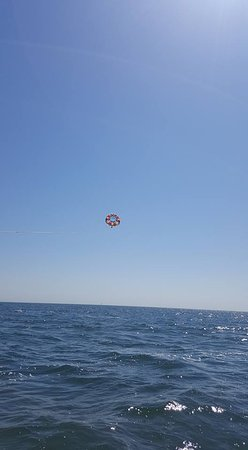 Atlantic Parasail: View from the boat