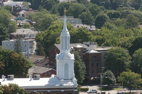 Poughkeepsie, NY: Poughkepsie from above