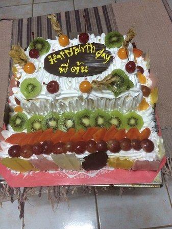Chiang Saen, Tailandia: Homemade pizza,pasta,burger Breakfast Homemade bakery,coffee break Birthday cake,wedding cake
