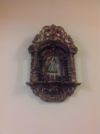 Hotel Vilandré: Detalles en madera