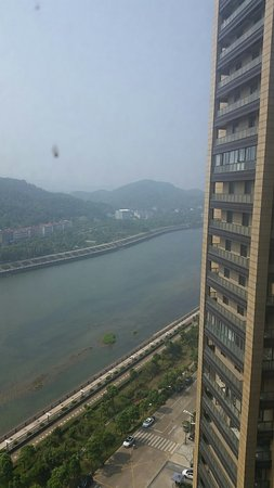 Jiangshan, Chiny: Pic from Hotel Room