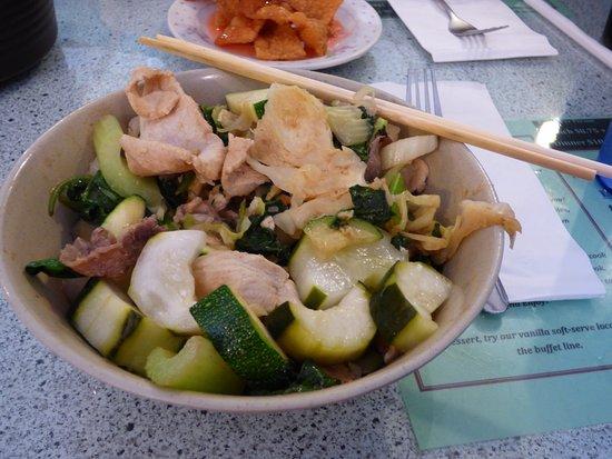 Sum's Mongolian Bar-B-Que Restaurant: Ready to eat