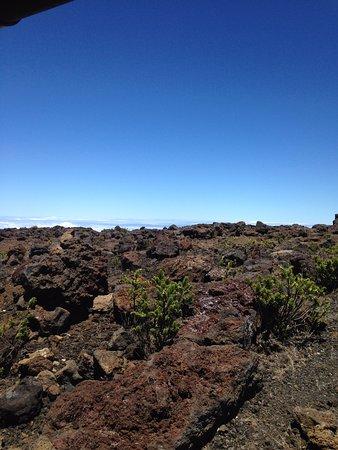 Kula, Hawái: Volcanic rocks on the summit!