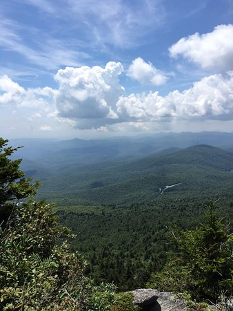 The Blowing Rock: One of the great views