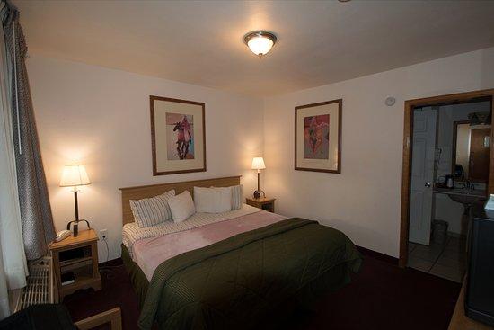 Silver Saddle Motel: room interior