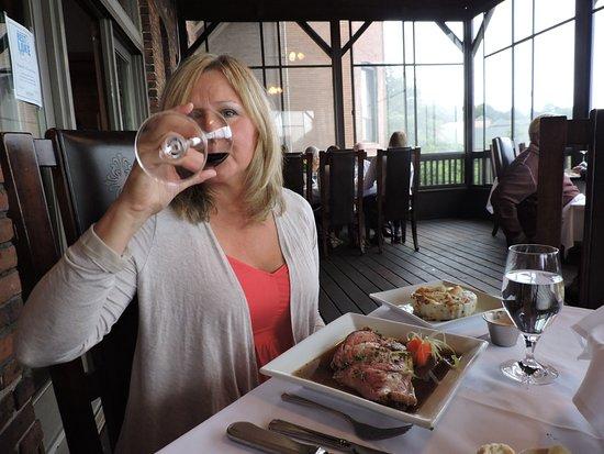Marquette, MI: The perfect wine to compliment a deliciously, tender Prime Rib.