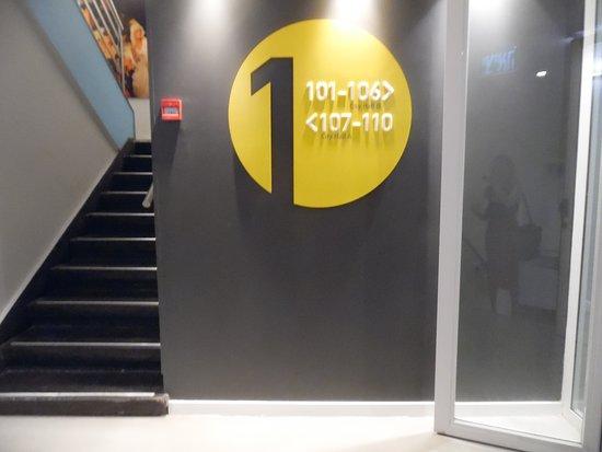 Hotel Prima City, Tel Aviv: First Floor Guest Room Hallway
