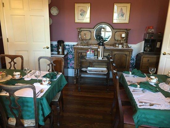 Sutter Creek, CA: Dining room
