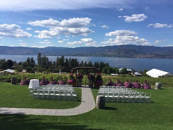 Summerhill Pyramid Winery: Beautiful day for a wedding