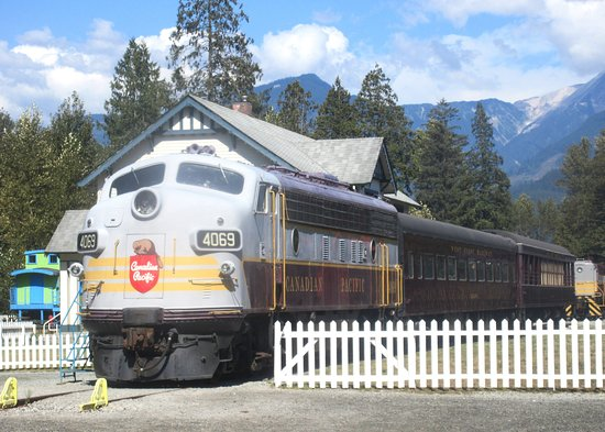 Σκουάμις, Καναδάς: West Coast Railway Heritage Park, Squamish, BC