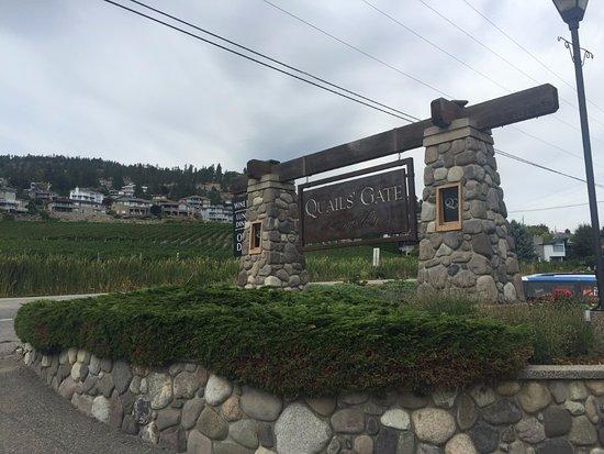 West Kelowna, Kanada: Entrance