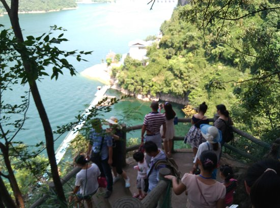 Changyang County, China: Going down